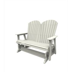 Malibu Outdoor Living Recycled Plastic Hyannis Double Glider
