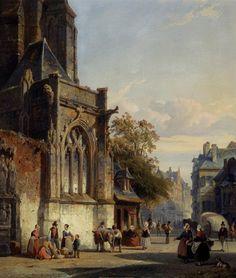 Cornelis Springer ( Amsterdam, 1817- Hilversum, 1891)