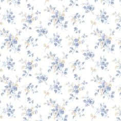 Traditional Wallpaper, pattern number PP35505, from the PRETTY PRINTS 4 range. Cream Wallpaper, Vinyl Wallpaper, Pastel Wallpaper, Wallpaper Roll, Art Festa, Garden Wedding Dresses, Meadow Flowers, English Country Gardens, Traditional Wallpaper