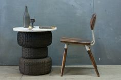 French Vintage Industrial School Chair : 20th Century Vintage Industrial : Modern Fifty #furniture
