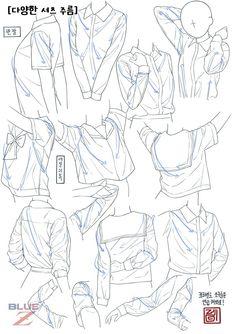 Manga Drawing Tips 画像 - Manga Drawing Tutorials, Drawing Techniques, Art Tutorials, Drawing Reference Poses, Drawing Poses, Drawing Tips, Drawing Anime Clothes, Manga Clothes, Anime Drawings Sketches