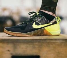 Nike Metcon 1: Black/Yellow
