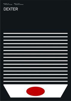 Exergian Minimalist Poster Series of Popular TV Shows | Trendland: Fashion Blog & Trend Magazine