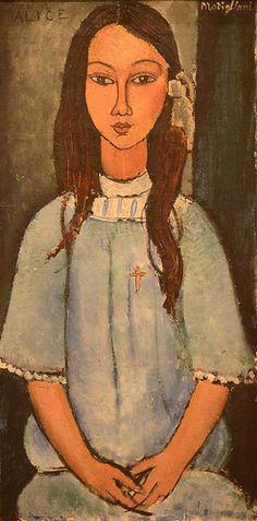Alice, Amedeo Modigliani, 1918