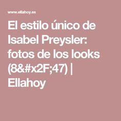 El estilo único de Isabel Preysler: fotos de los looks  (8/47) | Ellahoy