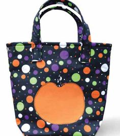 Adorable #DIY tote bag for the kids to use for trick-or-treating!