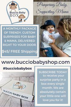 Buccio Baby Box  LAUNCH DAY!