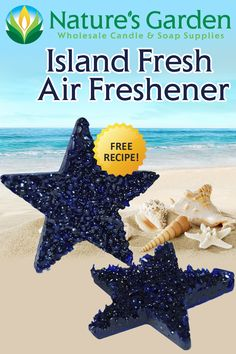 Free Island Fresh Air Freshener Recipe by Natures Garden.