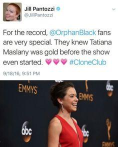 Tatiana Maslany 2016 Emmys Tatiana Maslany, Orphan Black, Lgbt, Crime, Fantasy, Tv, Imagination, Crime Comics, Fantasia