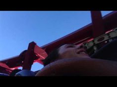Me & Steven Tyler Rich on X2 roller coaster at six flags Magic Mountain on June 28, 2013