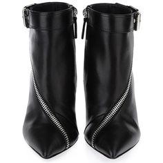 Giuseppe Zanotti Asymmetrical-Zip Leather Ankle Boots - Iskanje Google ❤ liked on Polyvore featuring shoes, boots, ankle booties, giuseppe zanotti bootie, bootie boots, ankle bootie boots, giuseppe zanotti and leather ankle bootie
