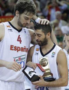 Juan Carlos Navarro MVP mejor jugador del campeonato
