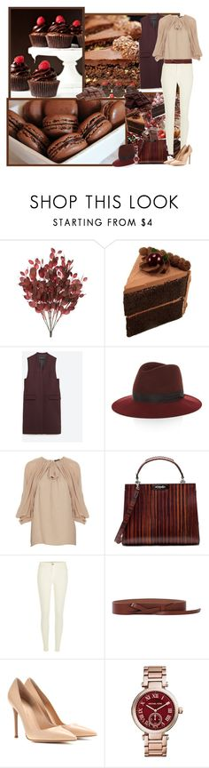 """Sweet life:)"" by asia-12 ❤ liked on Polyvore featuring Zara, rag & bone, Giambattista Valli, River Island, Rosetta Getty, Gianvito Rossi, Michael Kors and LIST"