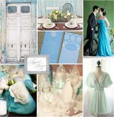 Mint Green Wedding | Poppiseed Designs Stationery