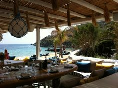 Nammos, Psarou beach, Mykonos, Greece