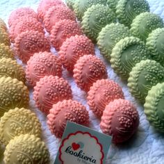 Cookieria By Margaret: Springerles Pastel Color