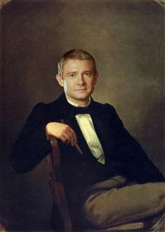 Martin Freeman As Watson in Sherlock BBC