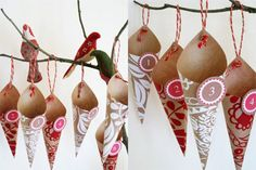 Paper Cone Advent Calendar
