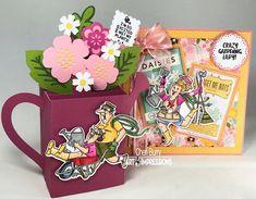 "Art Impressions ""Gotta Garden"" Set by CheriB Designs"