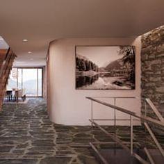 Entré / Flur im 2. Obergeschoss: rustikaler Flur, Diele & Treppenhaus von von Mann Architektur GmbH