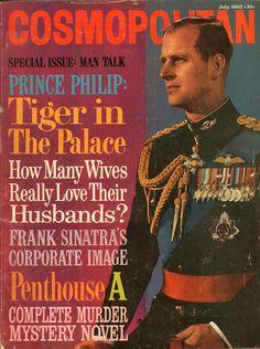 Cosmopolitan magazine, JULY 1962 Prince Philip on cover Royal Monarchy, British Monarchy, Prinz Philip, Elisabeth Ii, British Royal Families, Isabel Ii, Cosmopolitan Magazine, Queen Elizabeth Ii, Royals