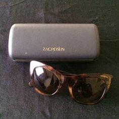3ab82f24caa Zac Posen sunglasses Tortoise frames with gold leaf accents(never worn) Zac  Posen Accessories Sunglasses
