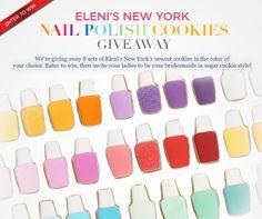 Click to Enter: Eleni's New York Nail Polish Cookies Giveaway