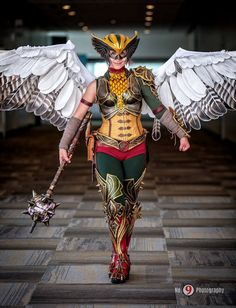 Hawkgirl Cosplay by spring-steel.deviantart.com on @DeviantArt this is amazing!!!