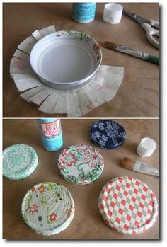 Easy Mod podge Tutorial - Turn Every Jar Into A Fun Container