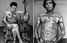 Have a look at the Gangster Tattoo Picture Gallery. Lots of Gangster Tattoo Designs to view and get some tattoo ideas. Russian Prison Tattoos, Russian Criminal Tattoo, Russian Tattoo, Picture Tattoos, Tattoo Photos, Mark Of Cain, Gangster Tattoos, Saul Bass, Banner