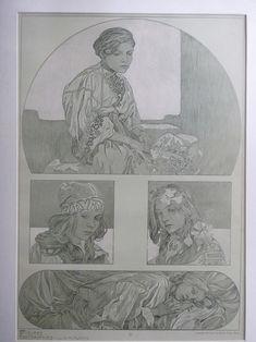 Documents Decoratifs - Plate 20 by Alphonse Mucha