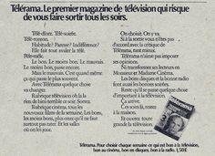 Télérama. HAVAS CONSEIL, 1973