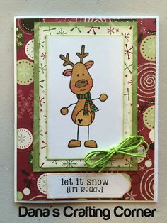 Stamp set Reindeer from Unity Stamps.