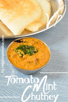TOMATO MINT CHUTNEY RECIPE | THAKKALI PUDINA CHUTNEY RECIPE Hello Friends, today I am sharing a tasty and flavourful chutney recipe which when paired with hot Idli's and crispy Dosa will definitely turn out to be a superhit combo. Tomato Chutney For Idli, Pudina Chutney Recipe, Chutney Recipes, Recipe Please, Paradise, Veggies, Mint, Tasty, Friends