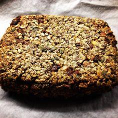 Homemade nutty bread. https://carrotforyou.wordpress.com/recipes/
