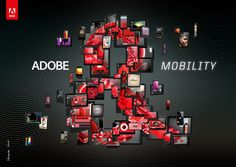 """Adobe &"" by Vasava - Visuals for the new Adobe international campaign ""Adobe &"". This campaigh highlights the power of their tools used by their potential clients of different fields, like developers, designers, typographers, film makers and any kind of creative profile."