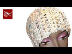 ▶ Darling Crochet Shell Cap - Learn How to make Crochet Geek - YouTube