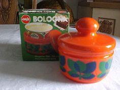 Emsa - Bologna - Dose - Margarinedose - 70er Jahre - im Originalkarton