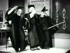 Stooges Swingin' The Alphabet!