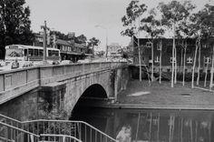 1960s - bus crossing Lennox Bridge, Church street, Parramatta South Australia, Western Australia, New South, Historical Architecture, Tasmania, Historical Photos, Ancestry, Old Photos, Childhood Memories