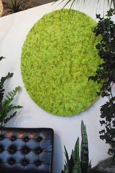 Moss Wall Art, Moss Art, Fresco, Moss Graffiti, Garden Wall Designs, Green Facade, Humble Abode, Decoration, Natural