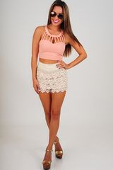 About A Girl Top: Blush      &nbsp