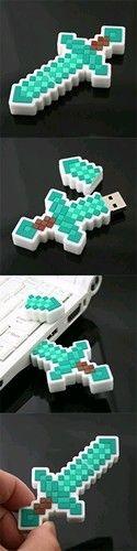 Minecraft แฟรชไดรฟ