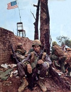 """A tribute to the Vietnam War. """"No event in American history is more misunderstood than the Vietnam War. American War, American Soldiers, American History, Hue Vietnam, North Vietnam, Vietnam History, Vietnam War Photos, Indochine, By Any Means Necessary"""