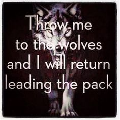 Leadership quotes fighter quotes perspective quotes wolf quotes wolves