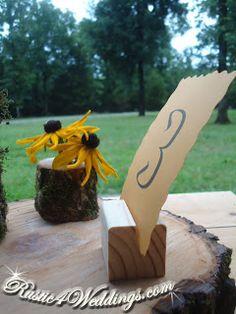 rustic 4 weddings wedding place card holders rustic wedding table number holders