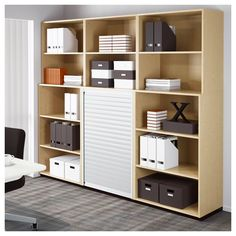 Ordinaire IKEA   GALANT Storage Combination Birch Veneer