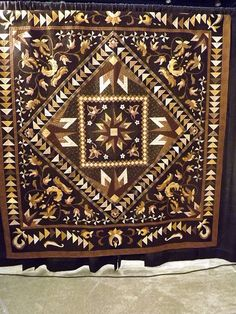 not being a person that likes brown I'm surprised that I really like this quilt