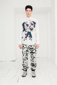 Joseph Turvey Fall Winter 2013 Dalmation Collection