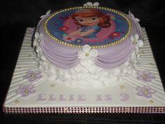 Sofia the 1st cake